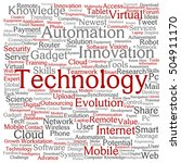 concept or conceptual digital...   Shutterstock . vector #504911170
