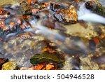 creek in autumn   | Shutterstock . vector #504946528