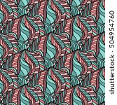 seamless abstract pattern for... | Shutterstock .eps vector #504954760