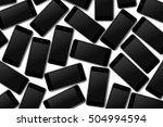 high detailed  realistic smart... | Shutterstock .eps vector #504994594