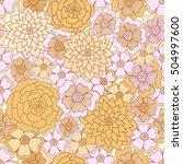 abstract seamless pattern....   Shutterstock .eps vector #504997600