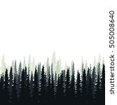 forest in the background | Shutterstock .eps vector #505008640
