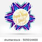 christmas design and elements... | Shutterstock .eps vector #505014400