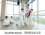 young  beautiful  successful... | Shutterstock . vector #505016113