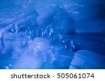 Penguin Sculpture In Ice Cave...