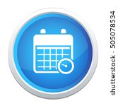 calendar appointment icon | Shutterstock .eps vector #505078534