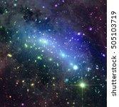 Cosmic Kaleidoscope Of Galaxy...