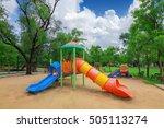 children playground in the park | Shutterstock . vector #505113274