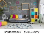 spacious apartment in grey with ...   Shutterstock . vector #505138099