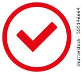 ok glyph rounded icon. image...