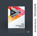 brochure template layout  cover ... | Shutterstock .eps vector #505160698