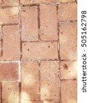 brick tile | Shutterstock . vector #505162798