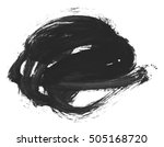 brush stroke and texture. smear ...   Shutterstock . vector #505168720