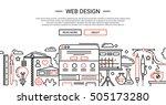 web design   illustration of...