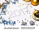 new year 2017 number on white... | Shutterstock . vector #505194229