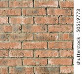 a brick wall useful as a... | Shutterstock . vector #50519773
