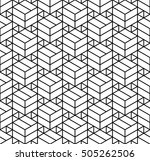 vector modern abstract geometry ... | Shutterstock .eps vector #505262506