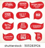 modern sale stickers collection | Shutterstock .eps vector #505283926
