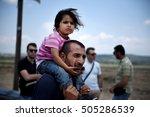Idomeni  Greece   May 26  2016...