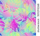 vector tropical gradient...   Shutterstock .eps vector #505293268