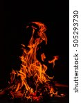 Small photo of Burning fire/Fire/Fire