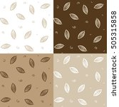 set of seamless ornamental with ... | Shutterstock .eps vector #505315858