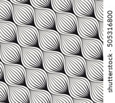 vector seamless pattern.... | Shutterstock .eps vector #505316800