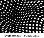 curved stripes. abstract... | Shutterstock .eps vector #505333813