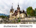 sinaia  romania   september 10  ... | Shutterstock . vector #505336273