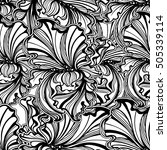 seamless pattern of flowers and ...   Shutterstock .eps vector #505339114