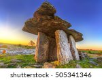 Poulnabrone Portal Tomb In...