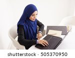 business woman.  | Shutterstock . vector #505370950