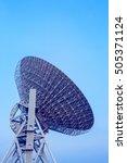 radio telescopes for... | Shutterstock . vector #505371124