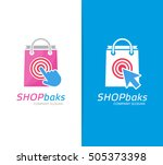 vector package and click logo...   Shutterstock .eps vector #505373398