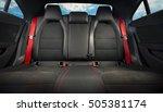 comfortable back seats of... | Shutterstock . vector #505381174