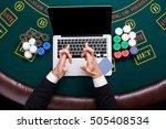 casino  online gambling ...   Shutterstock . vector #505408534