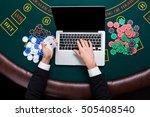 casino  online gambling ...   Shutterstock . vector #505408540