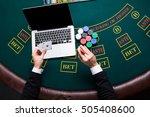 casino  online gambling ...   Shutterstock . vector #505408600