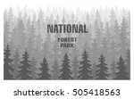 forest plantations forest... | Shutterstock .eps vector #505418563