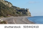 English Coastline. Branscombe...
