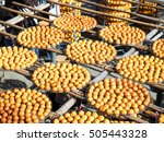 making dried persimmon during...   Shutterstock . vector #505443328