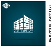 buildings icon for company | Shutterstock .eps vector #505445584