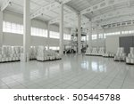 factory and industrial... | Shutterstock . vector #505445788