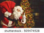 Portrait Of Santa Claus With...