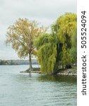beautiful fall scenes around...   Shutterstock . vector #505524094