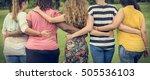 women female feminism lady... | Shutterstock . vector #505536103
