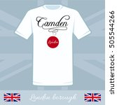 london city borough camden... | Shutterstock .eps vector #505544266