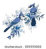 Blue Jay Bird Vector...