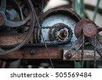 gears of vintage machine | Shutterstock . vector #505569484