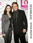 Small photo of Mia Maestro and Edward James Olmos at the LALIFF screening of 'Chagas: A Hidden Affliction' held at the Egyptian Arena Theatre in Hollywood, USA on October 7, 2006.